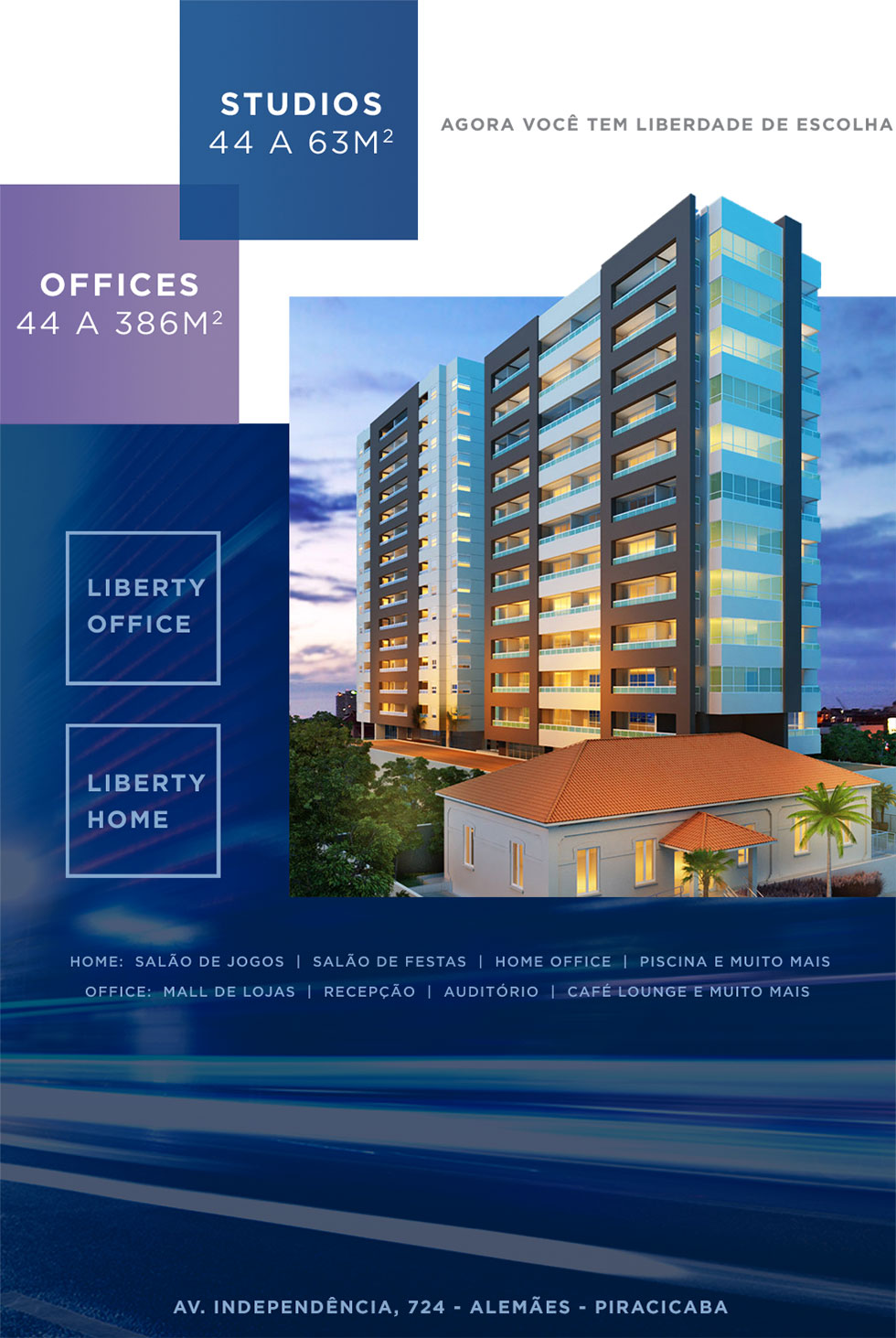 Liberty Office / Liberty Home flyer